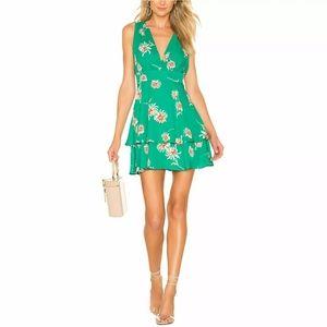 Green floral  Garden Strolls BB Dakota dress